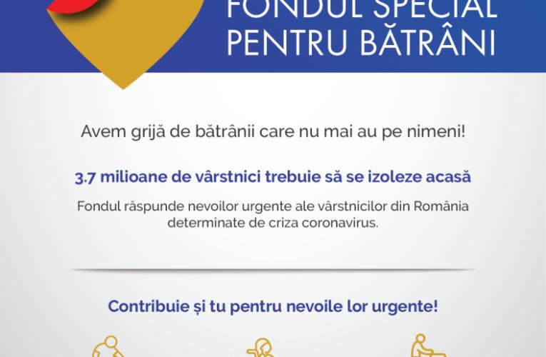 [Dă binele mai departe] Fondul Special pentru Bătrâni răspunde nevoilor urgente ale celor care nu mai au pe nimeni