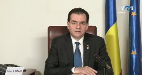 Ludovic Orban: Încercăm să pornim producţia de ventilatoare în România, cu Dacia sau Renault