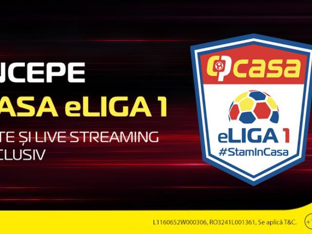 (P) Liga 1 e din nou în ofertă! Pariezi pe derby-urile din Casa eLiga FIFA 20