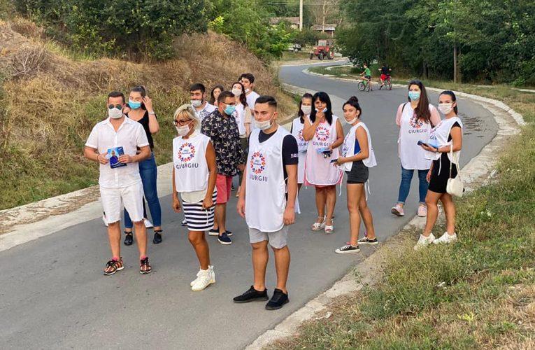 Astăzi in comuna Stanesti,sa susținem candidații Pro Romania.