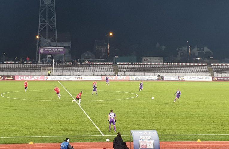 FC Argeș vs Astra Giurgiu 1-0 / Prima victorie pentru echipa nou-promovată