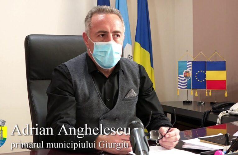 Declarația primarului municipiului Giurgiu, Adrian Anghelescu 05.11.2020