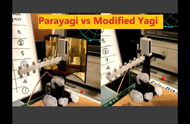 MAVIC MINI antenna test comparison – Parayagi, Parabolic & Yagi Range Extenders & Yagi flying tips