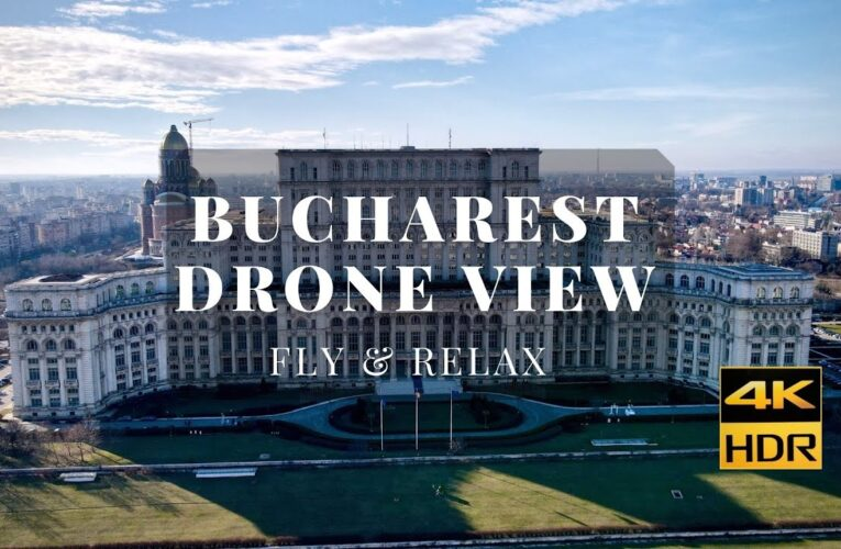 Bucharest Drone View 🇷🇴 Aerial Footage 🇷🇴 City from above 🇷🇴 Relax Music 4k