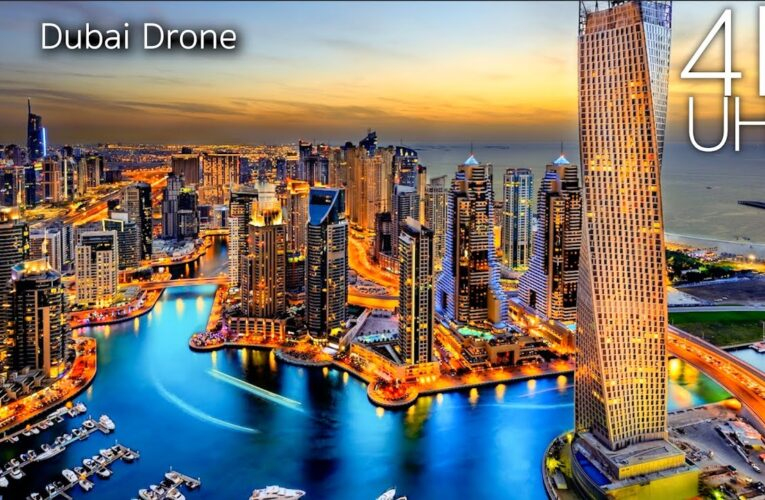 Dubai văzut din dronă 4K
