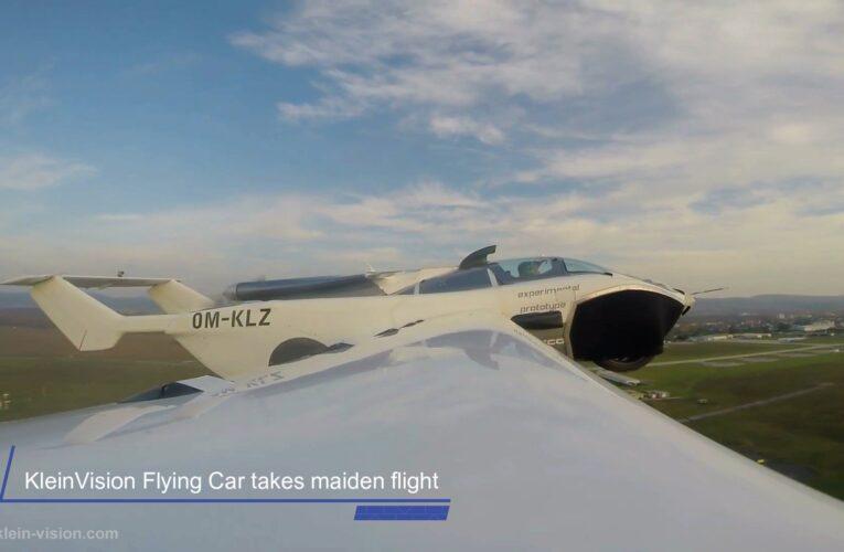 KleinVision Flying Car își face primul zbor