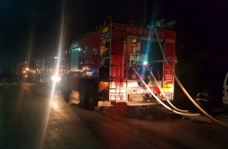 Incendiu la Spitalul de Psihiatrie Vulcan, din Brașov. Pompierii, chemați de urgență, 150 de pacienți au fost evacuați
